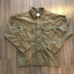 Patagonia Organic Cotton Button Front Heavy Shirt